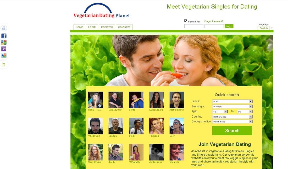 Fruitarian dating site